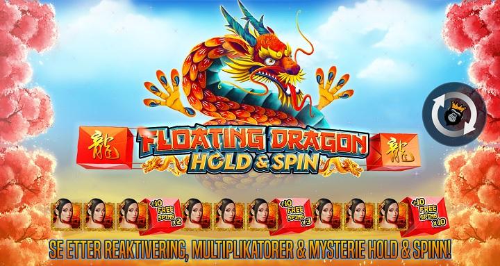 Spill Floating Dragon på Unibet